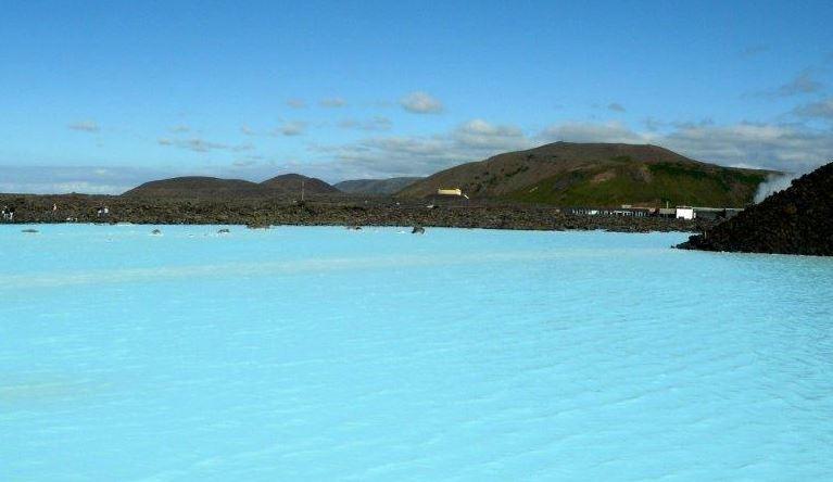 Widok na Blue Lagoon (fot.: materiały własne Róża Detmer)
