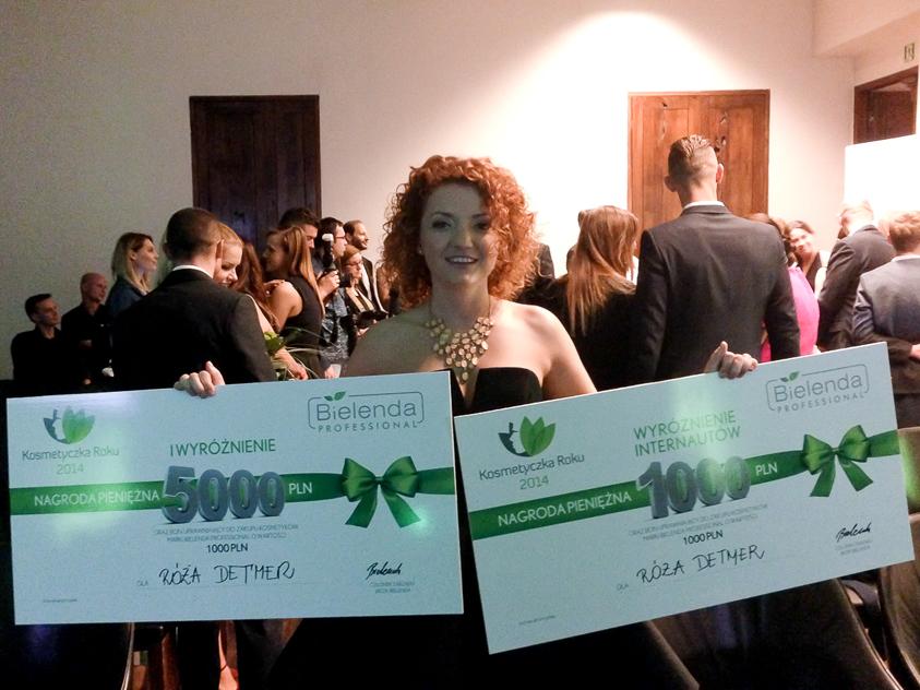 Róża Detmer zajęła w tym roku II miejsce w konkursie Bielendy i tytuł Kosmetyczki Internautów.