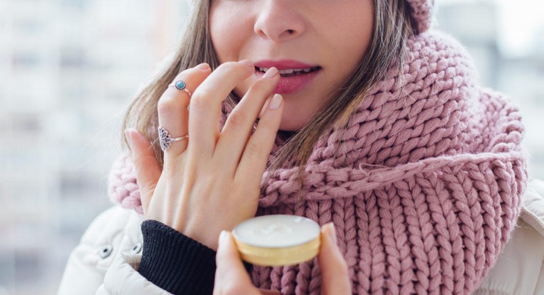 pielęgnacja ust zimą