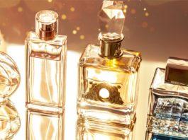 Flakony z perfumami