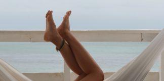 Gładkie nogi na wakacjach