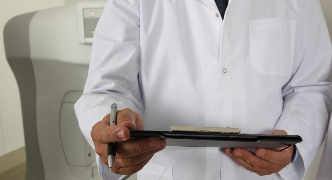 Lekarz podczas pracy