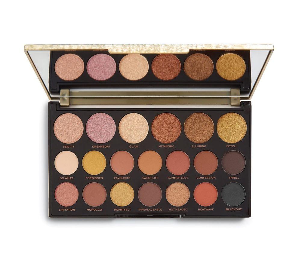 Paleta cieni Makeup Revolution Jewel Collection