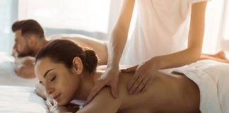 masaż dla pary
