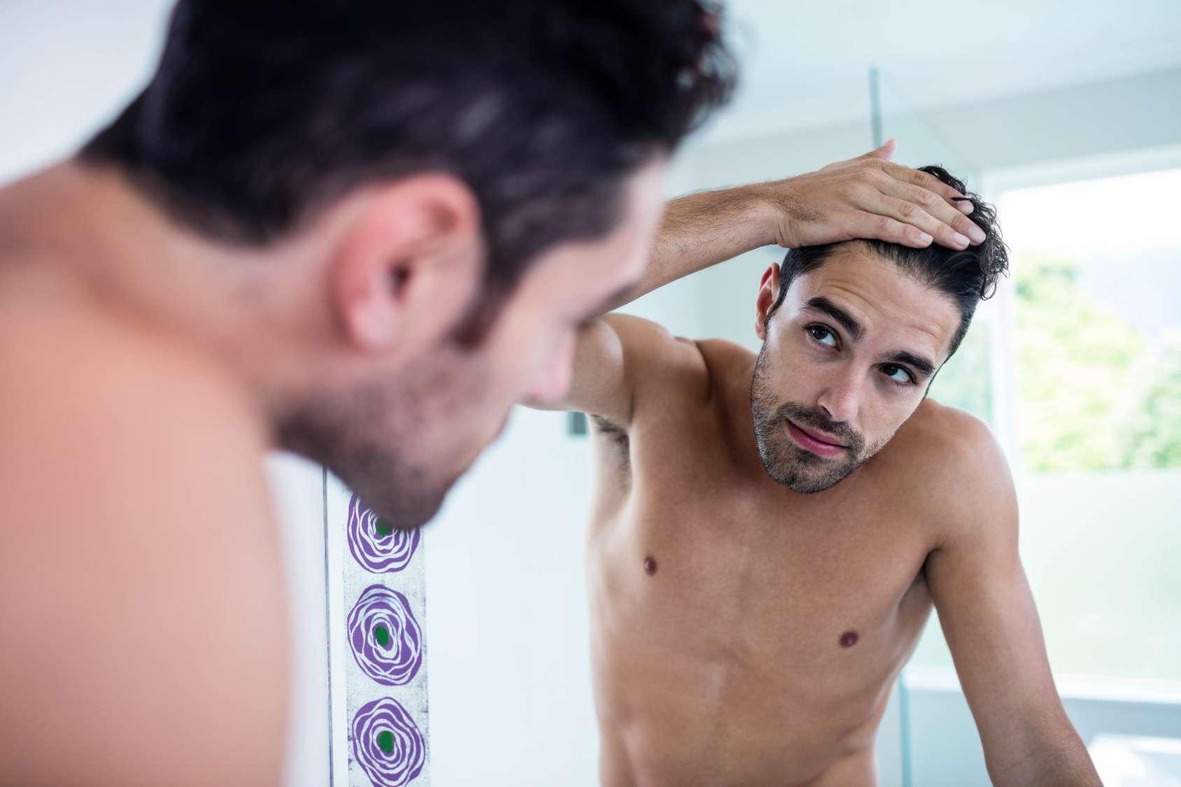 Łysienie dotyka mężczyzn po 40 roku życia