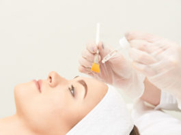 peeling chemiczny w gabinecie medycyny estetycznej
